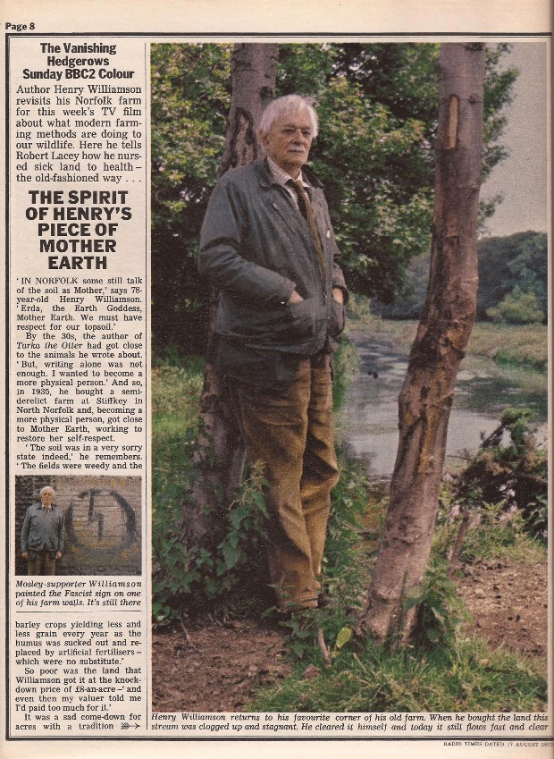 hedgerows radio times1a photo Gordon Moore