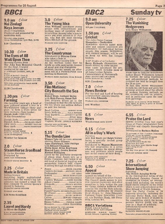 hedgerows radio times4