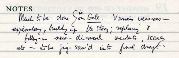 gale 12 diary notes 17268