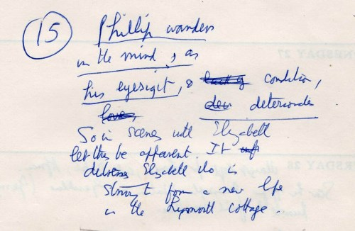 gale 7 Diary notes Sept 1967