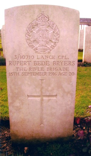 bryers headstone