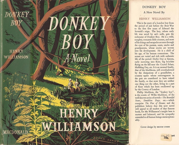 donkey boy 1952 wrapper