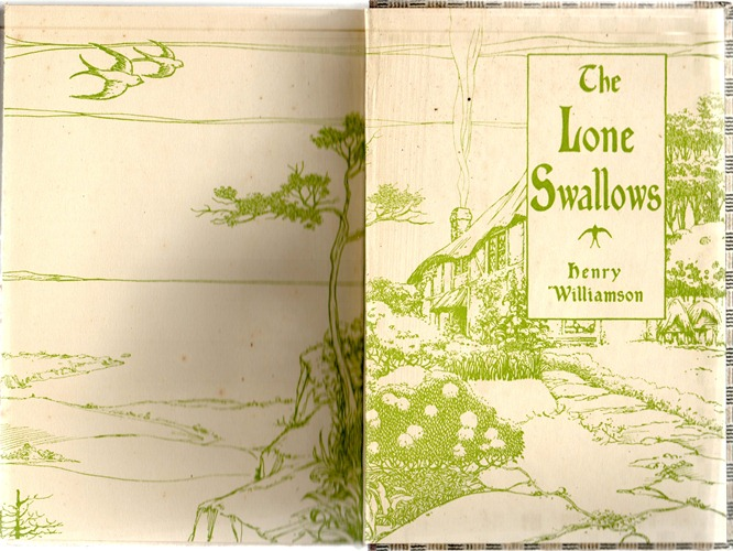 lone swallows 1926 endpapers