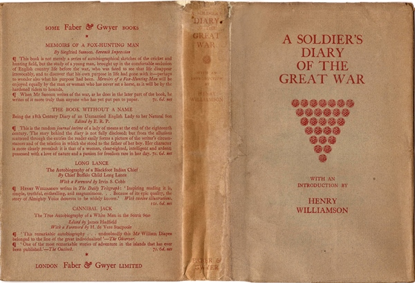 soldiers diary cover