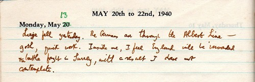 solitary diary 13 may40