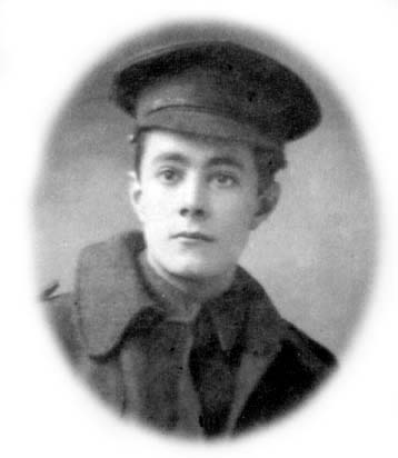 HW as a young soldier in 1915